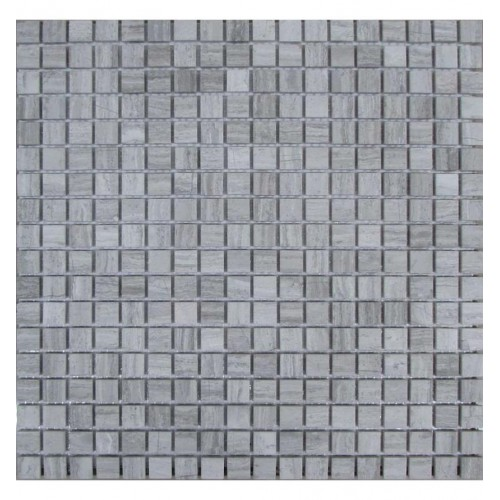 FK Marble Classic Mosaic White Wooden 15-4T 30.5x30.5