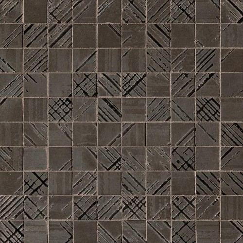 Fap Bloom Metal Brown Gold Mosaico 30.5x30.5