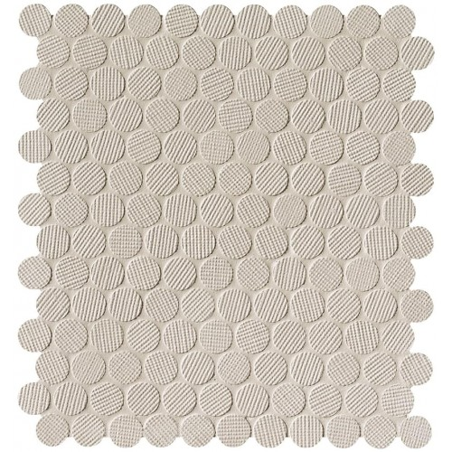 Fap Milano And Wall Beige Round Mosaic ? 2 29.5x32.5