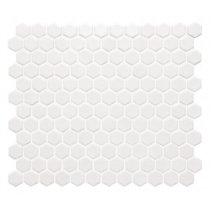 Original Style Artworks Decors White Honeycomb 25.7x29.7
