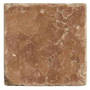 Original Style Earthworks Tumbled Marble Rosso 10x10